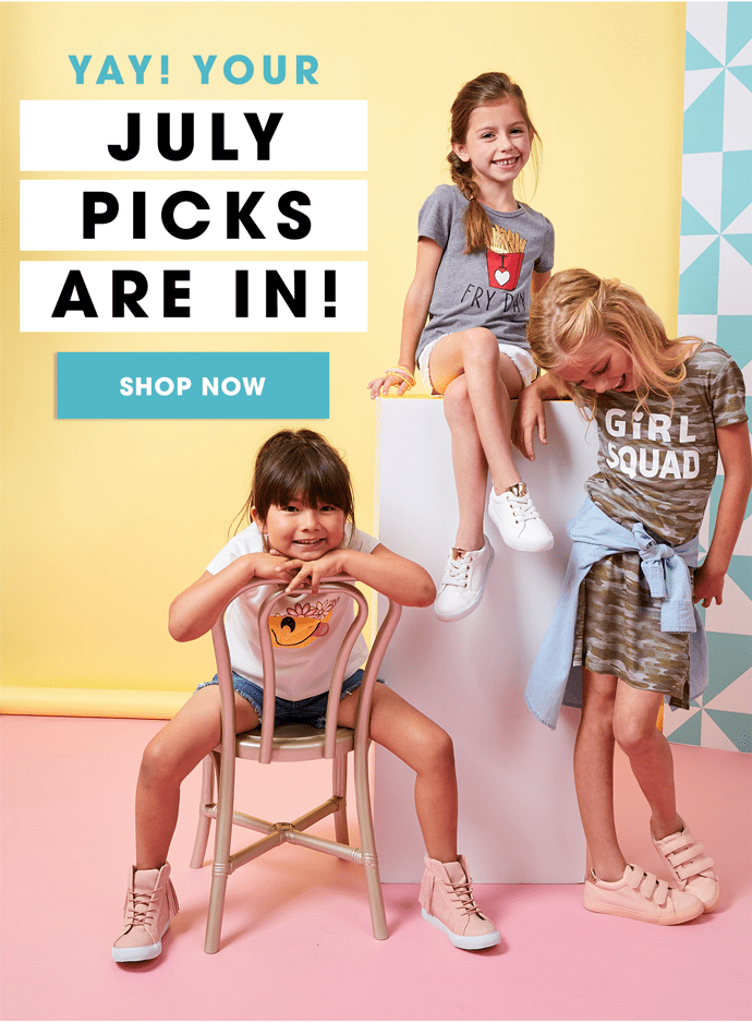 FabKids July 2017 Collection + Coupon!