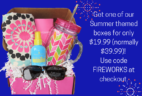 Pampered Mommy July 4th Deal: 50% Off Summer Boxes!