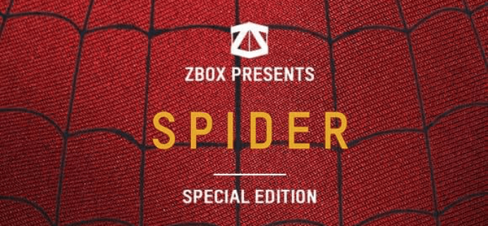 ZBOX Limited Edition Spider-Man Box Available Now!