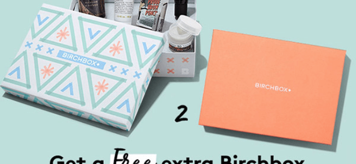 Birchbox Coupon Code: Free Bonus Box with New Subscription!