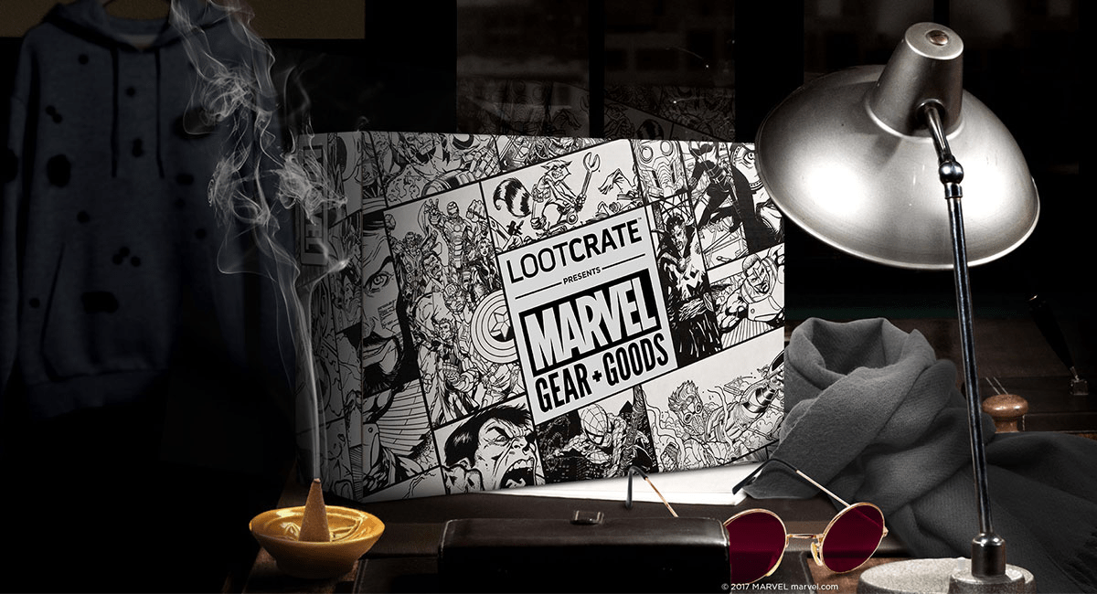 Loot Crate Marvel Gear + Goods September 2017 Full Spoilers!