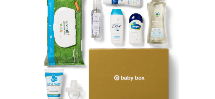 $7 Target Baby Box Available Now!