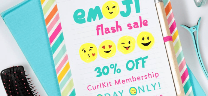 CurlKit Emoji Day Sale: 30% Off Coupon! Today Only!