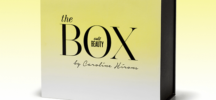 New Cult Beauty Box by Caroline Hirons