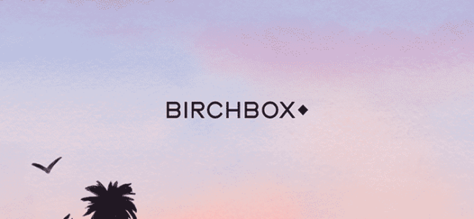 Birchbox August 2017 Selection Time!