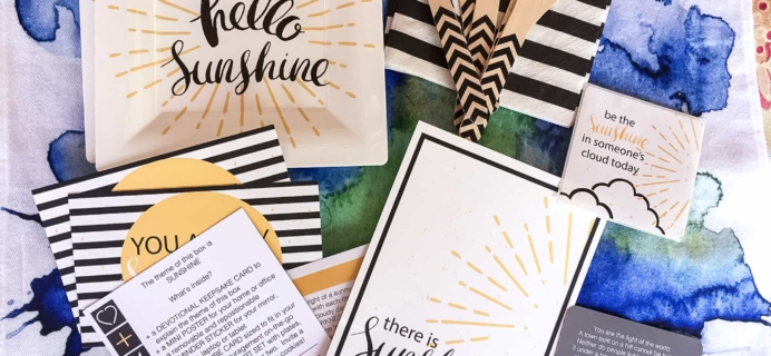 Loved+Blessed July 2017 Subscription Box Review + Coupon