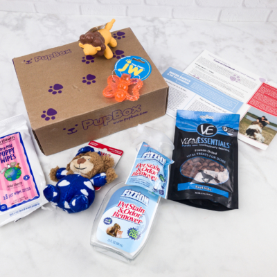 PupBox July 2017 Subscription Box Review + Coupon!