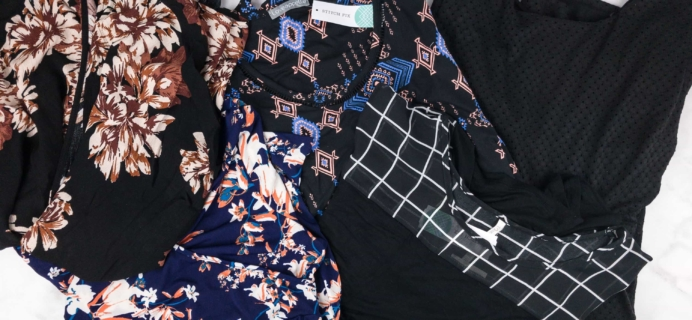 August 2017 Stitch Fix  Review {Maternity}