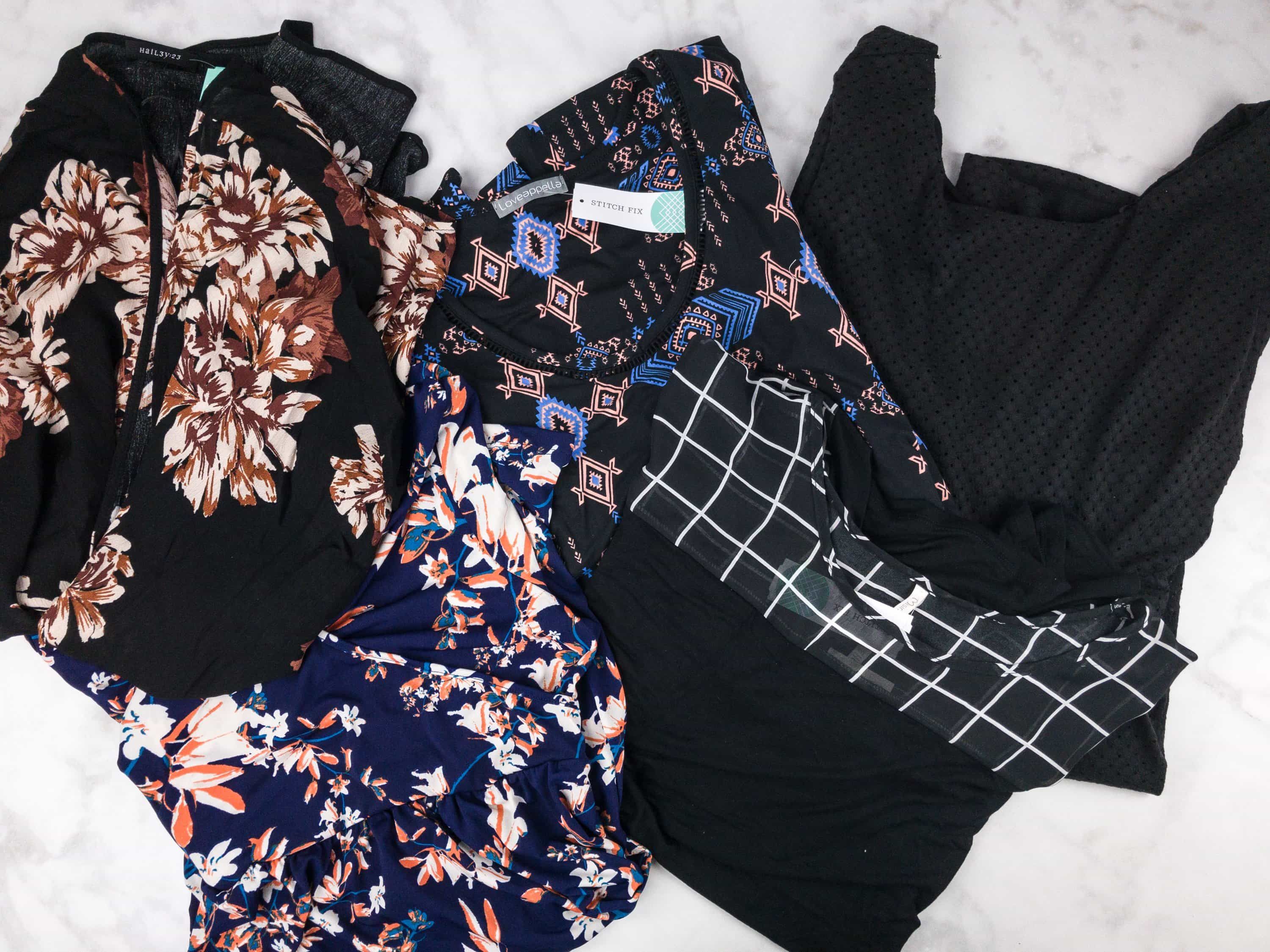 August 2017 Stitch Fix Subscription Box Review {Maternity}