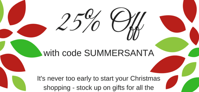 Pampered Mommy Christmas in July Deal: 25% Off Boxes!