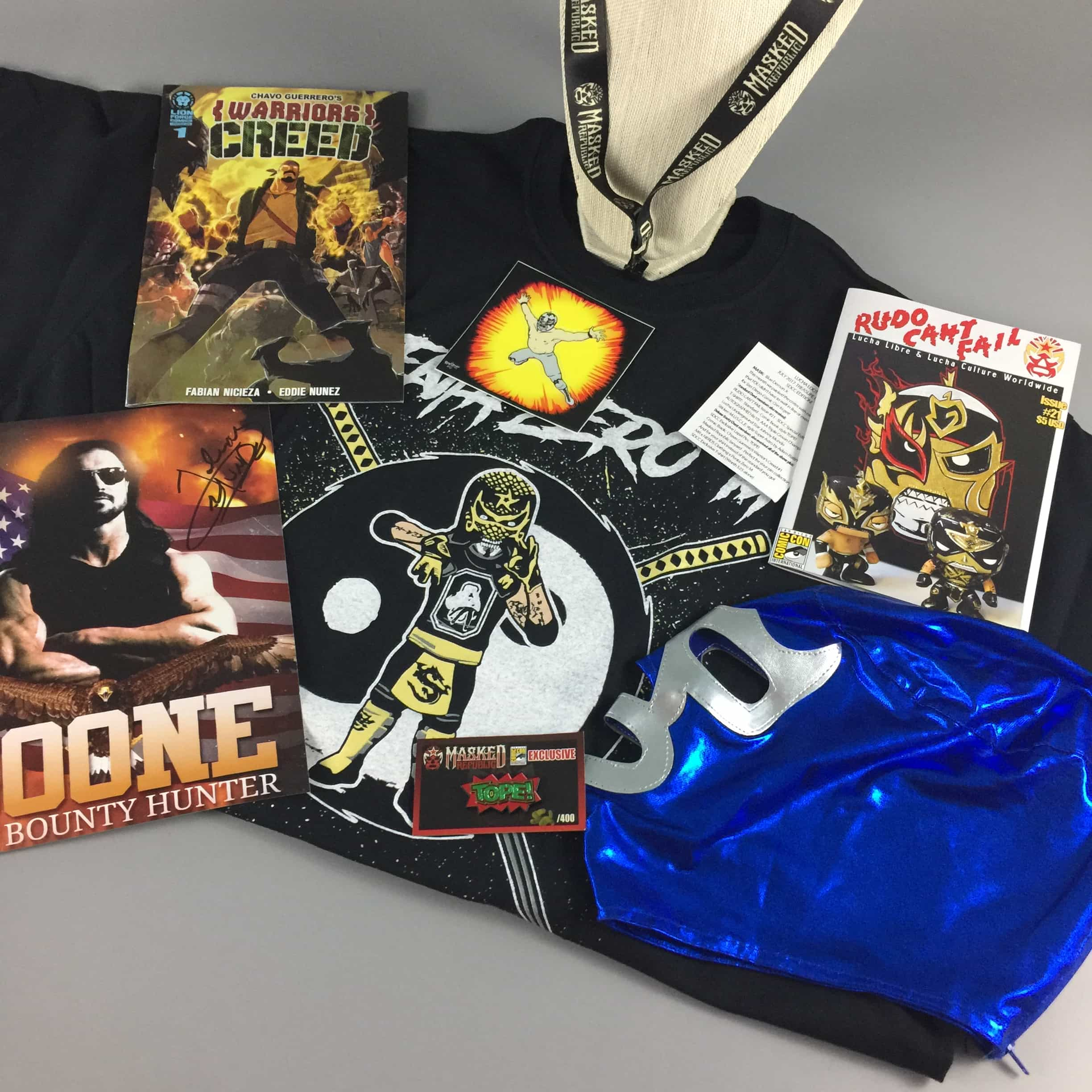 Lucha Loot Subscription Box Review & Coupon – August 2017