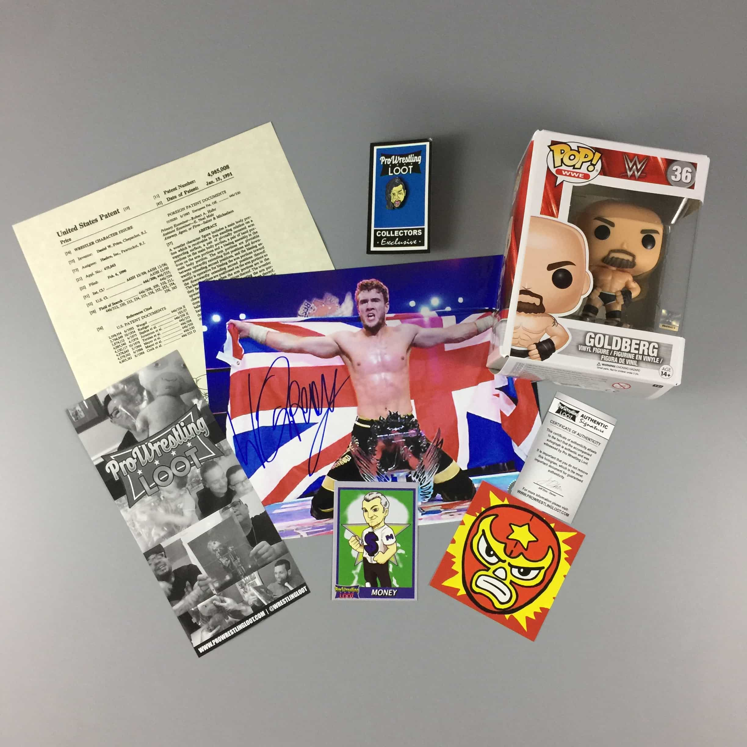 Pro Wrestling Loot August 2017 Subscription Box Review + Coupon