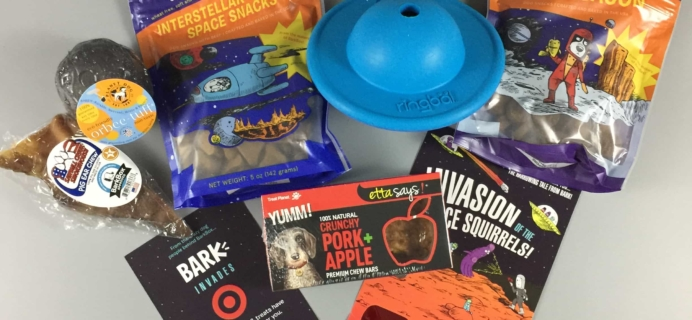 Barkbox August 2017 Subscription Box Review – Super Chewer