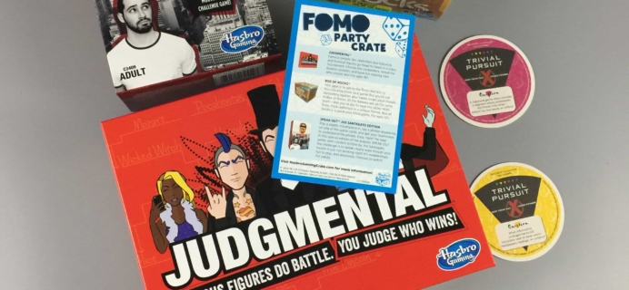 Hasbro Gaming Crate 2017 Subscription Box Review – Party Crate