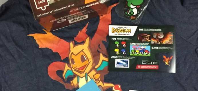 Super Geek Box August 2017 Subscription Box Review & Coupon