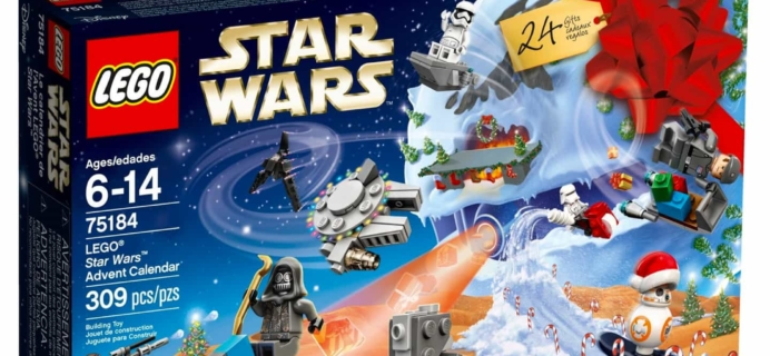 Lego 2017 Advent Calendars Available Now! Star Wars, Friends, City Town!