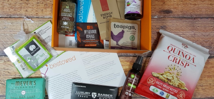 Bestowed May 2017 Subscription Box Review + Coupon!