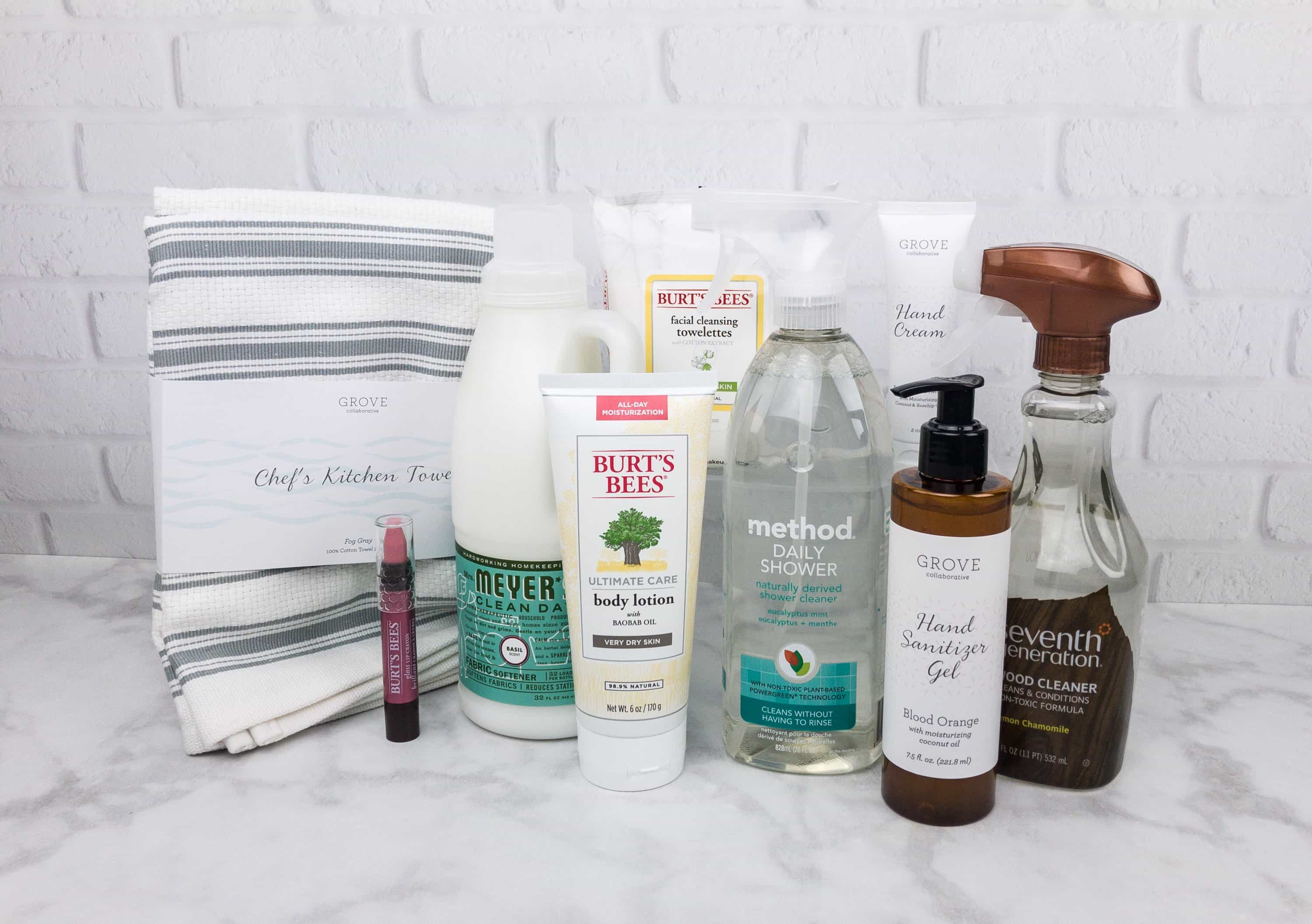 Grove Collaborative Subscription Box Review & Coupon – August 2017