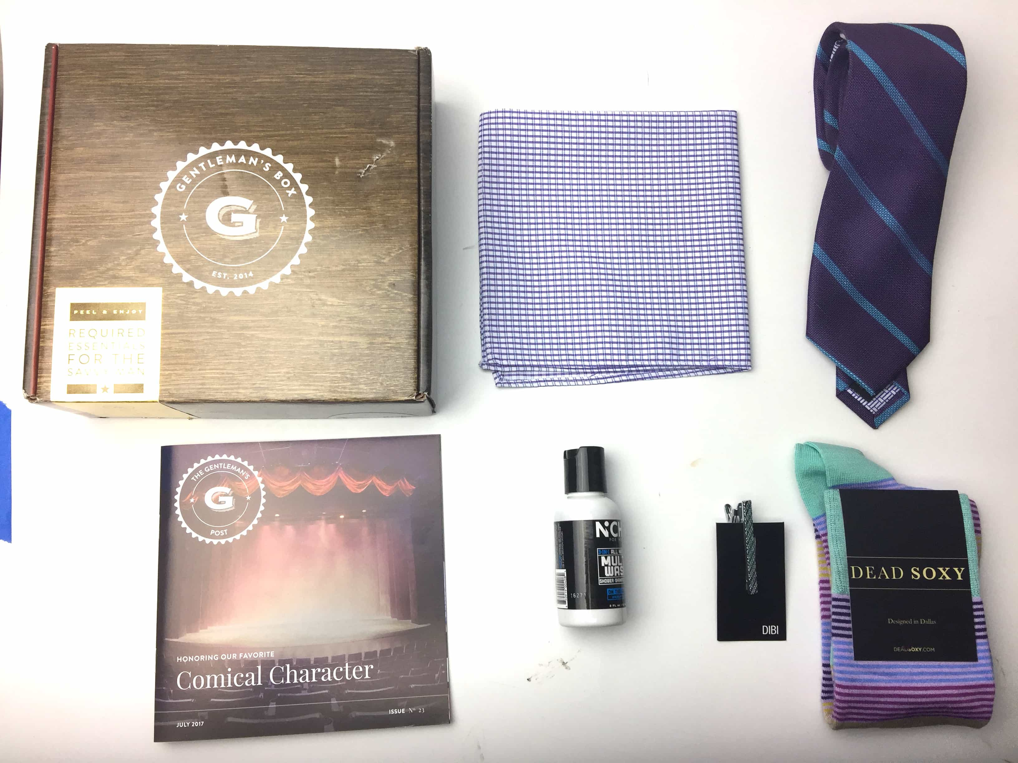 The Gentleman's Box Review & Coupon – July 2017