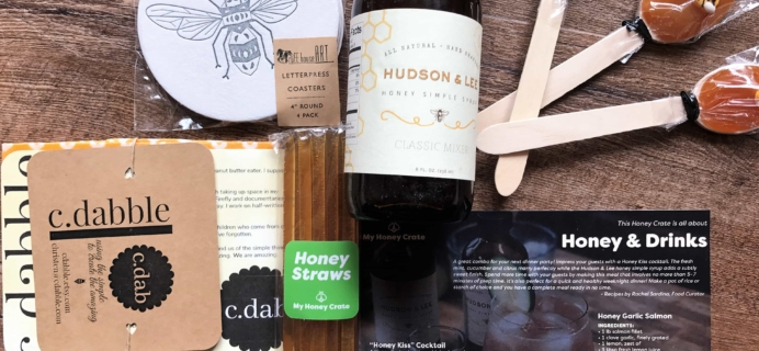 My Honey Crate Subscription Box Review – June 2017
