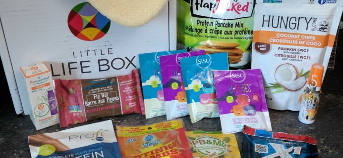 Little Life Box Subscription Box Review + Coupon – August 2017