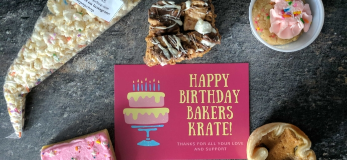 Bakers Krate August 2017 Subscription Box Review + Coupon!