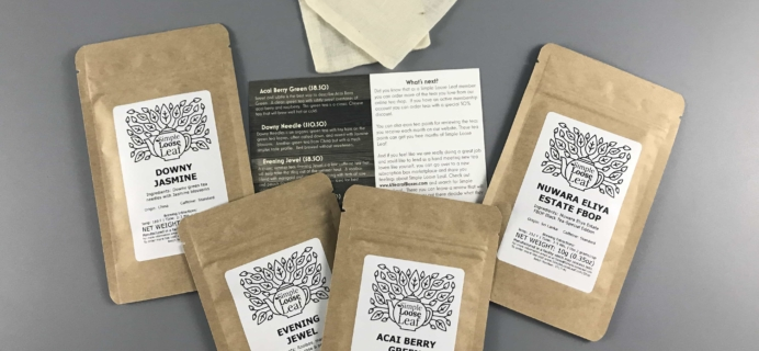 Simple Loose Leaf Tea August 2017 Subscription Box Review