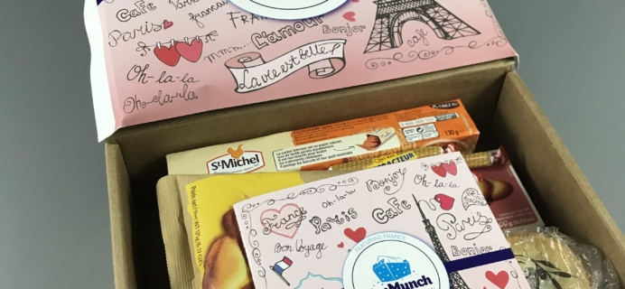 TopMunch August 2017 Subscription Box Review + Coupon – France