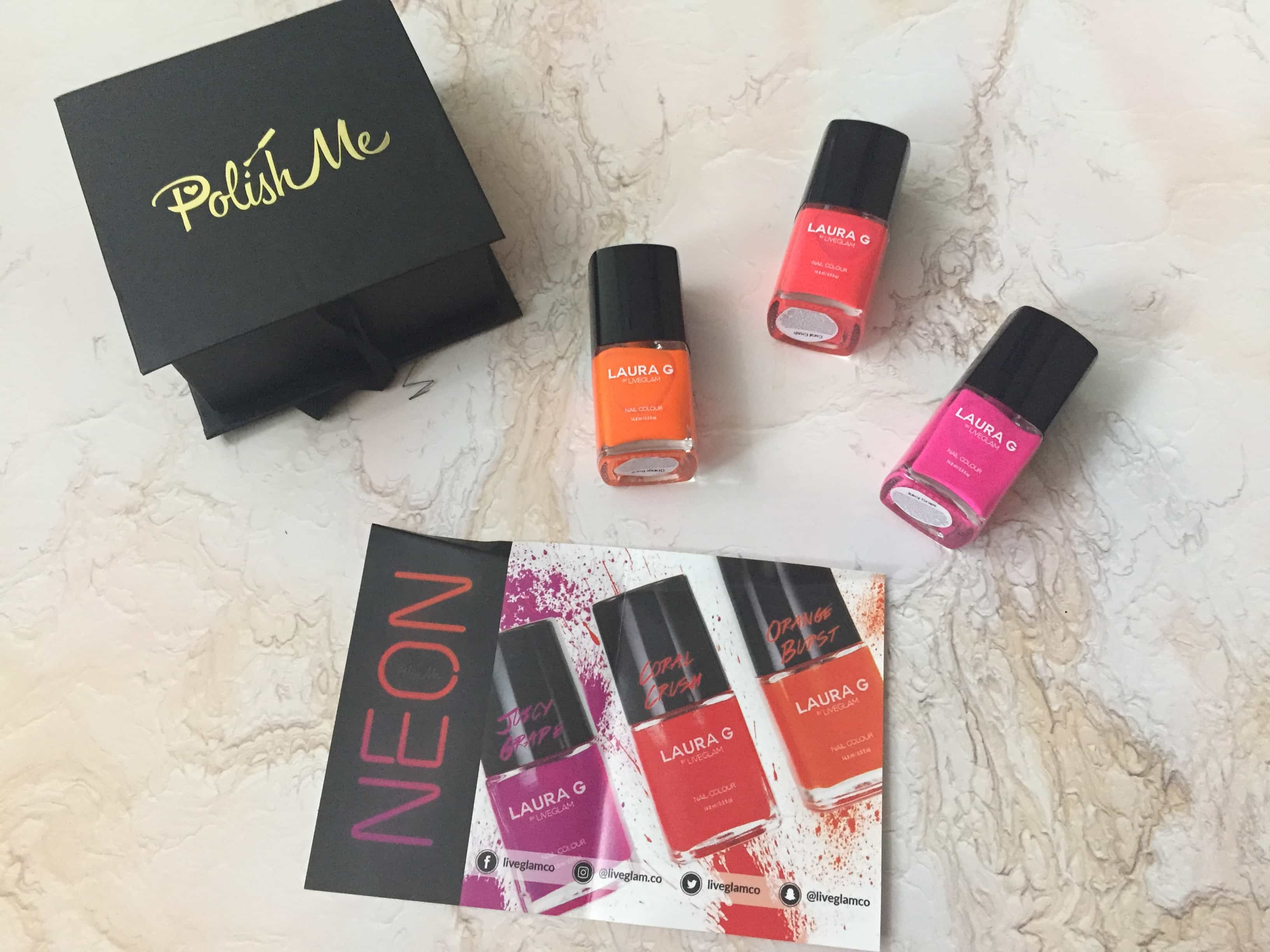 PolishMe August 2017 Subscription Box Review + Coupon