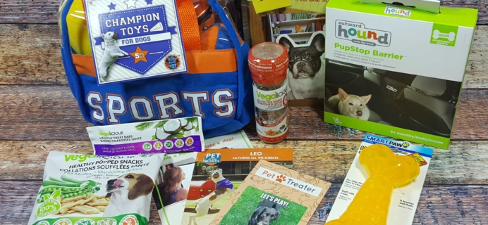 Pet Treater Dog Subscription Box Review + Coupon – May 2017