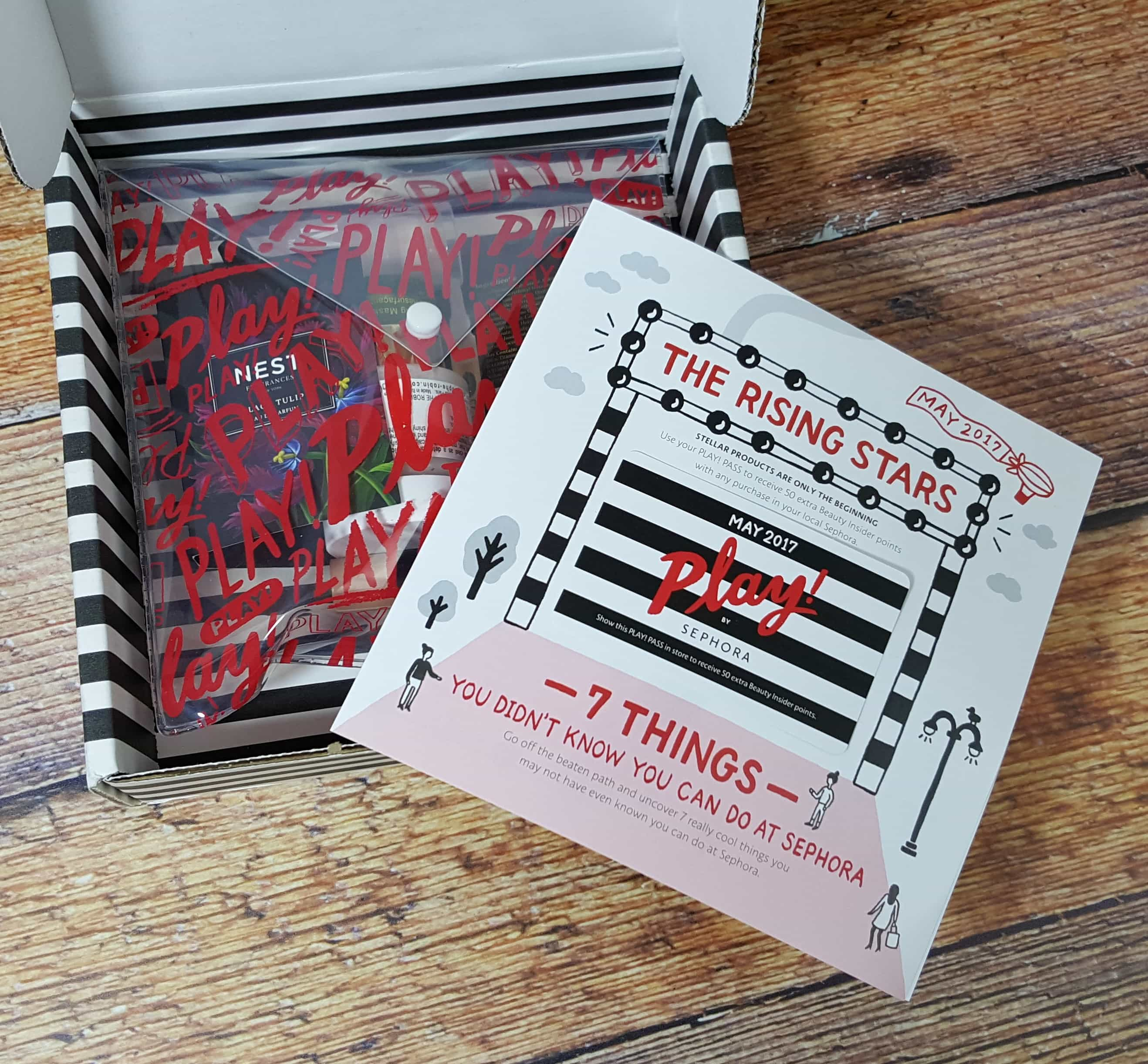 PLAY! by Sephora Subscription Box Review – May 2017
