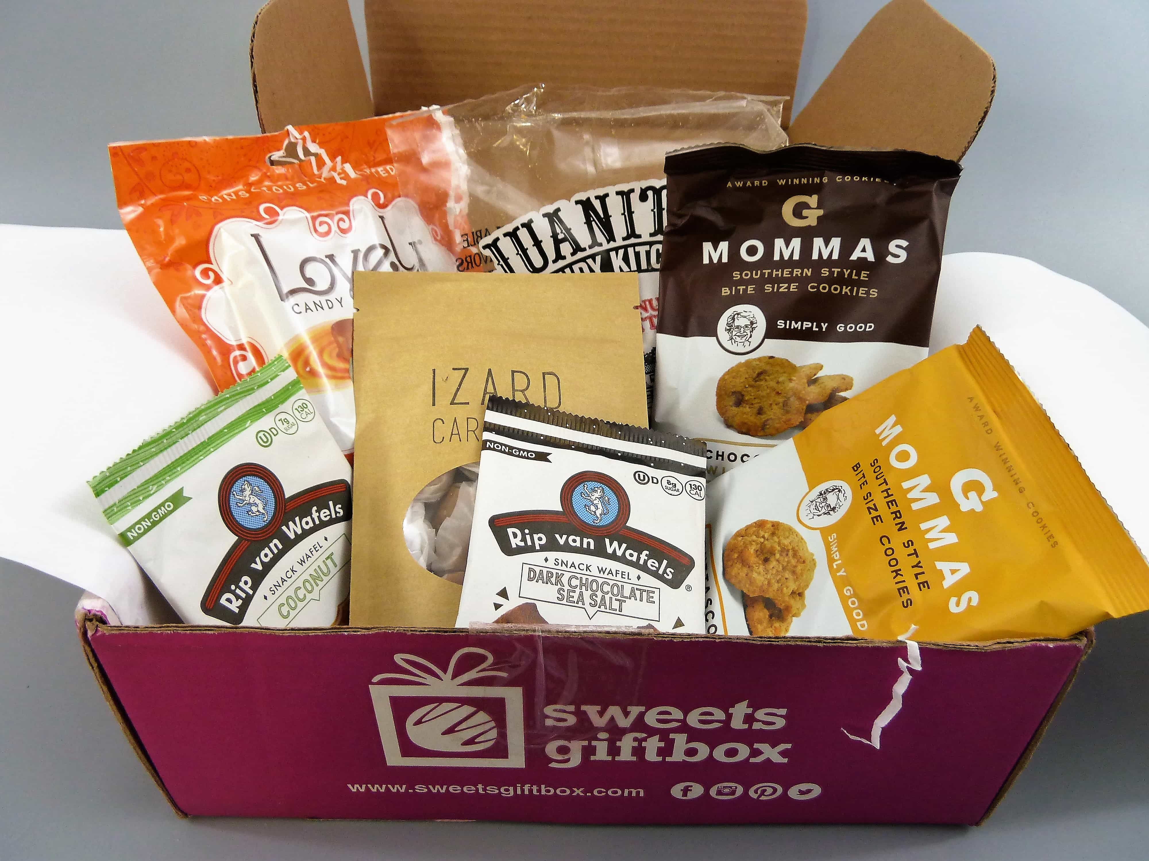 Sweets Gift Box July 2017 Subscription Box Review