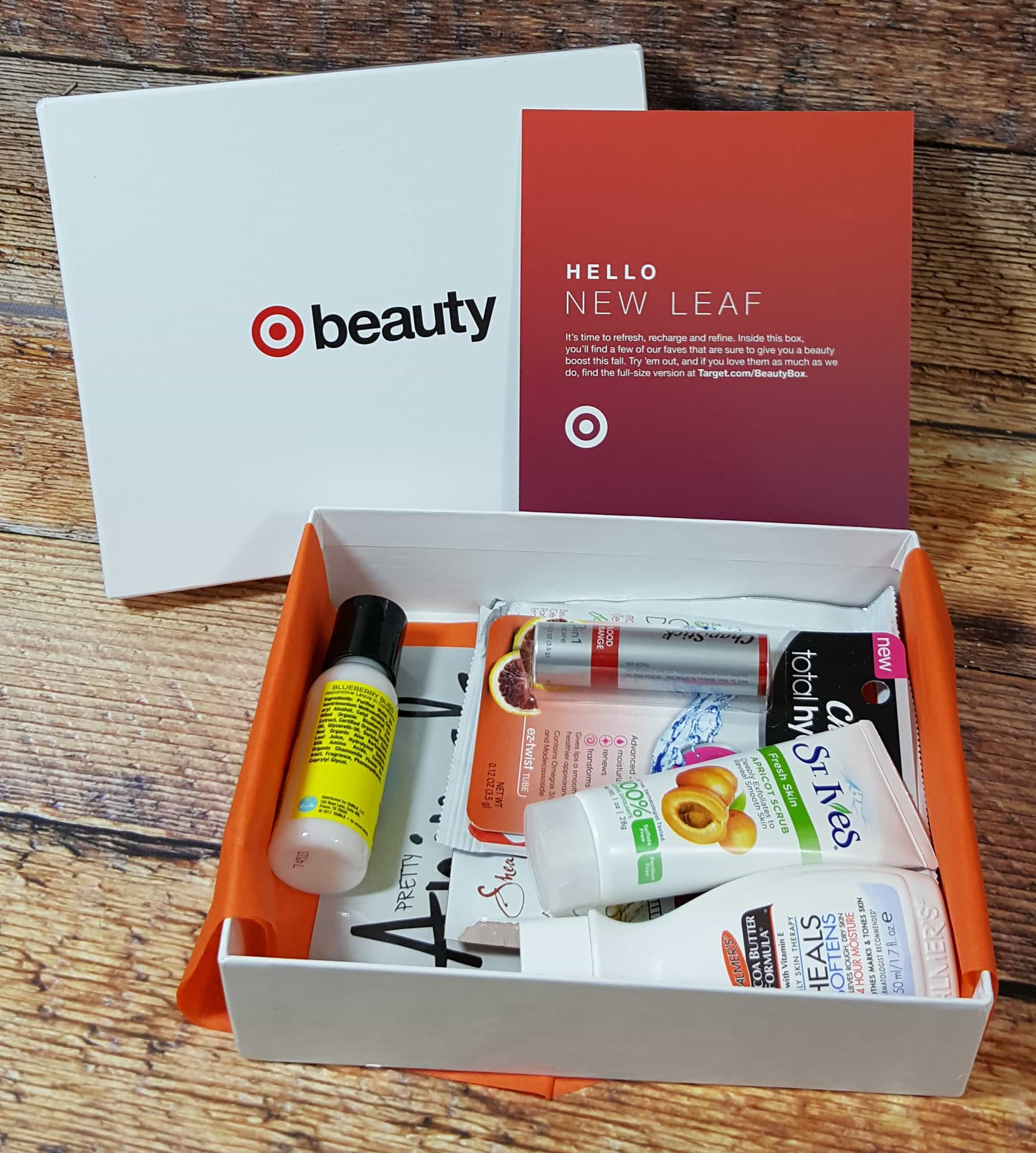 Target Beauty Box September 2017 Review – Total Hydration