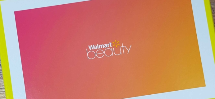Walmart Trendsetter Beauty Box Subscription Review – Summer 2017
