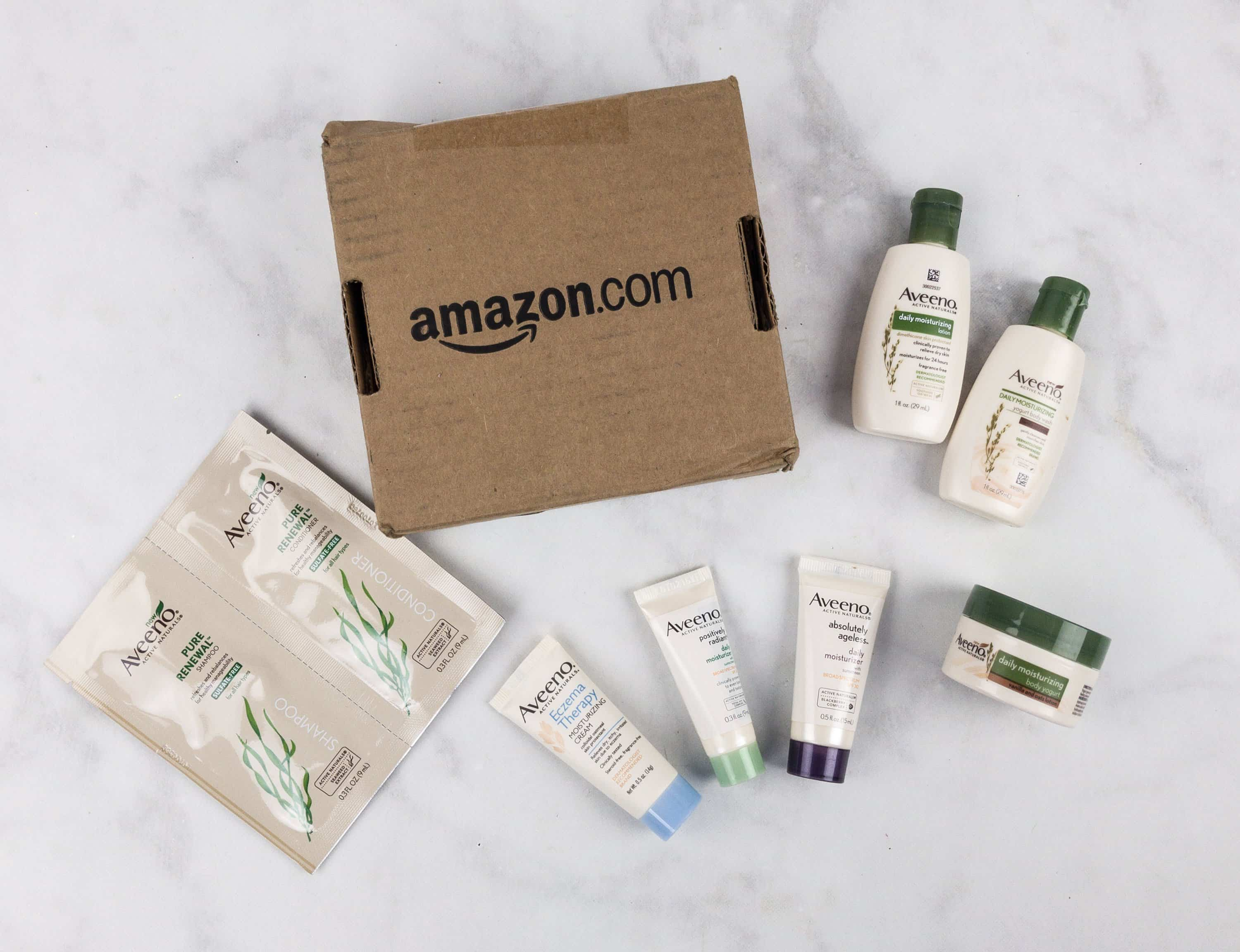Amazon Prime Aveeno Sample Box Review – FREE After Credit!