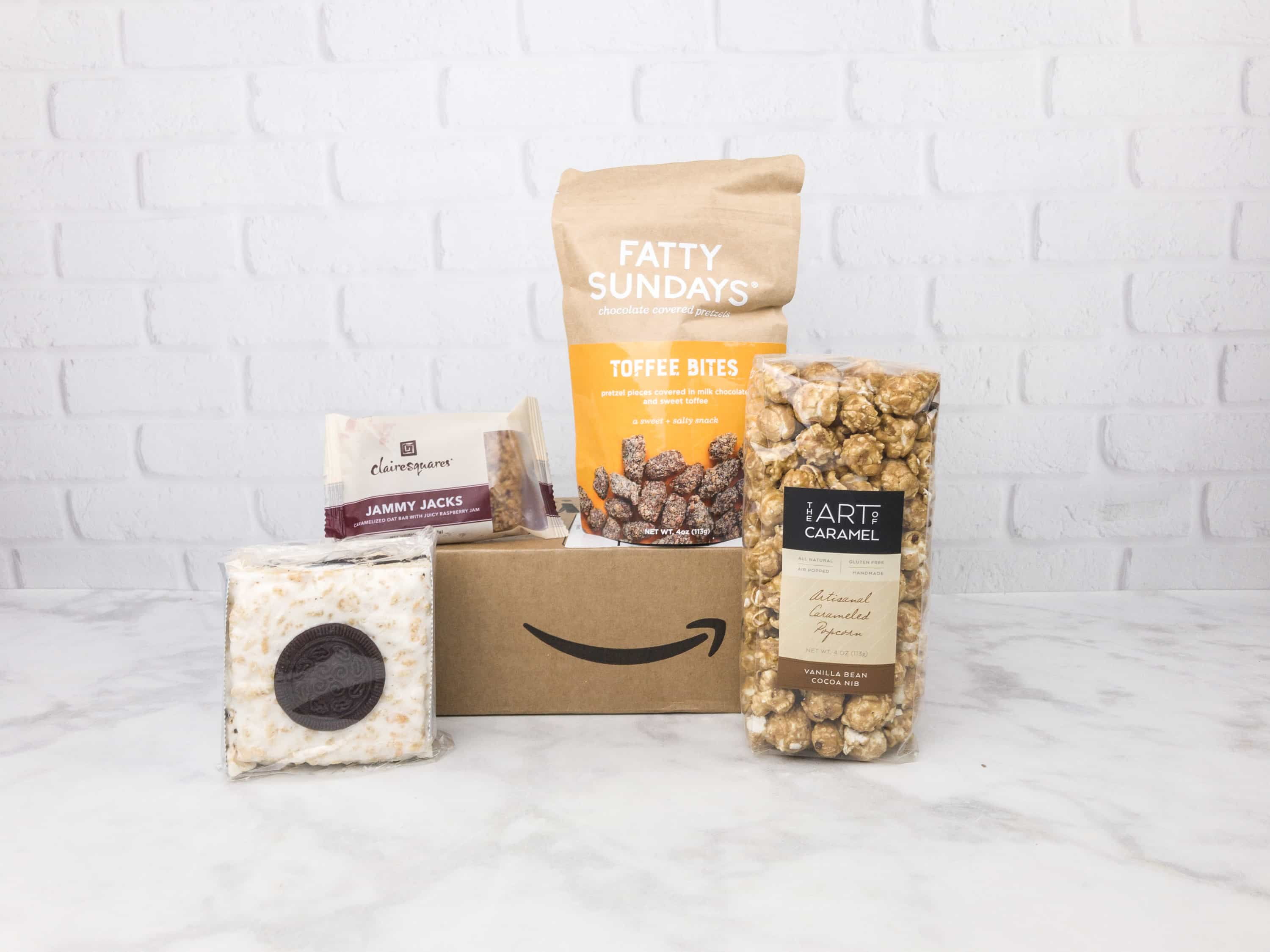 Amazon Prime Surprise Sweets Box August 2017 Review #2