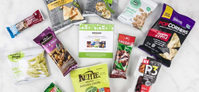 Amazon Prime Snack Sample Box Review – FREE After Credit!