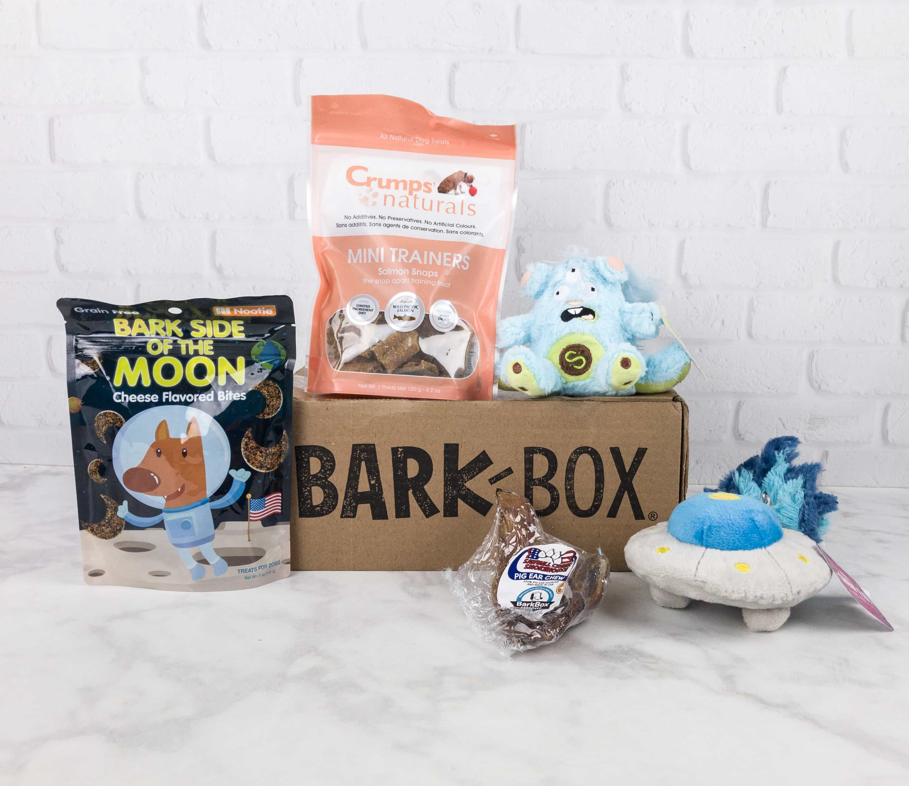 Barkbox August 2017 Subscription Box Review + Coupon