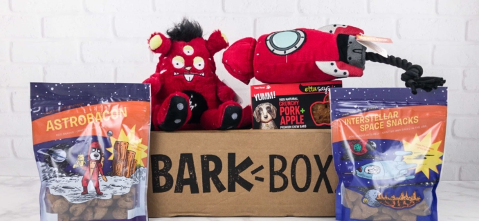 Barkbox August 2017 Subscription Box Review + Coupon – Large Dog