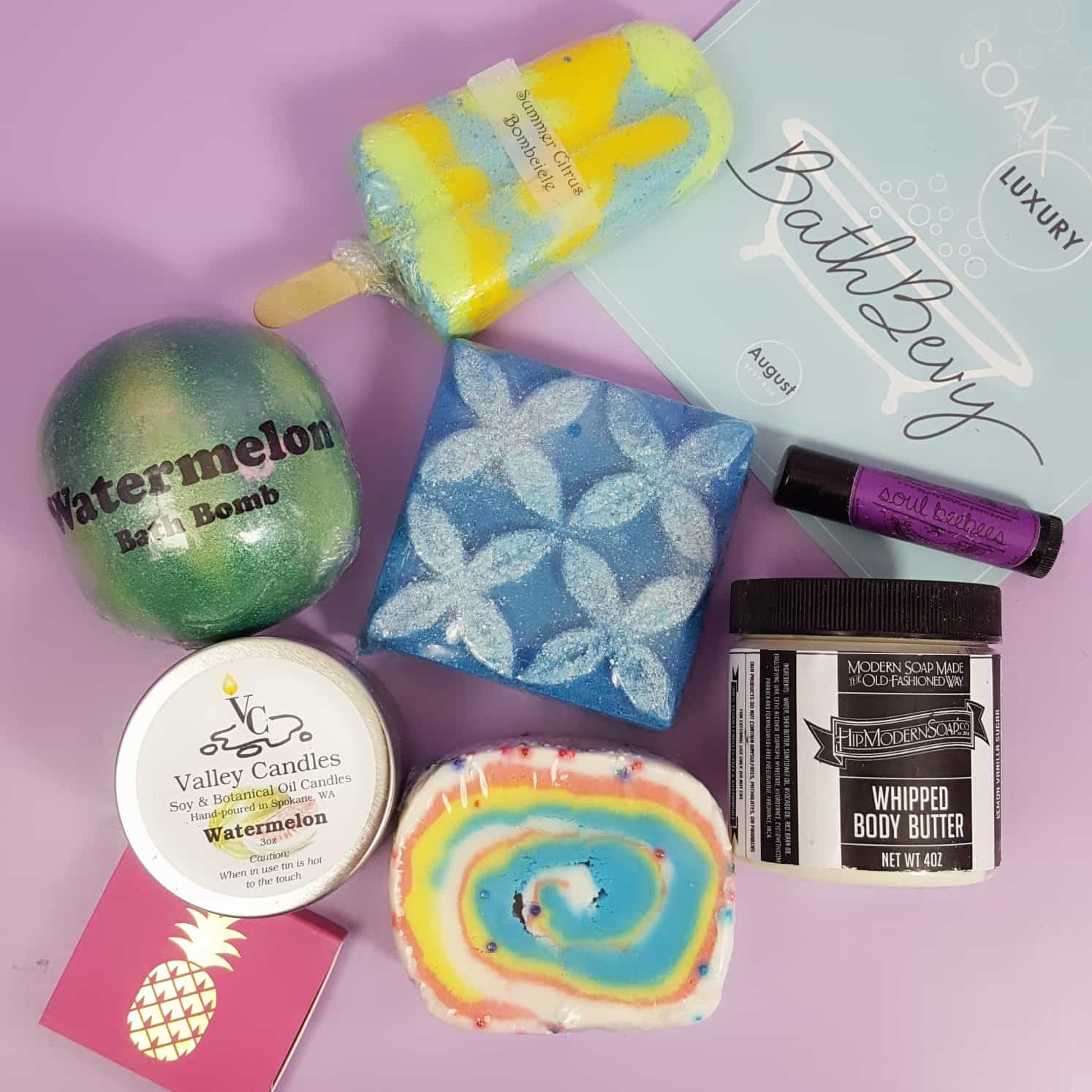 Bath Bevy August 2017 Subscription Box Review + Coupon