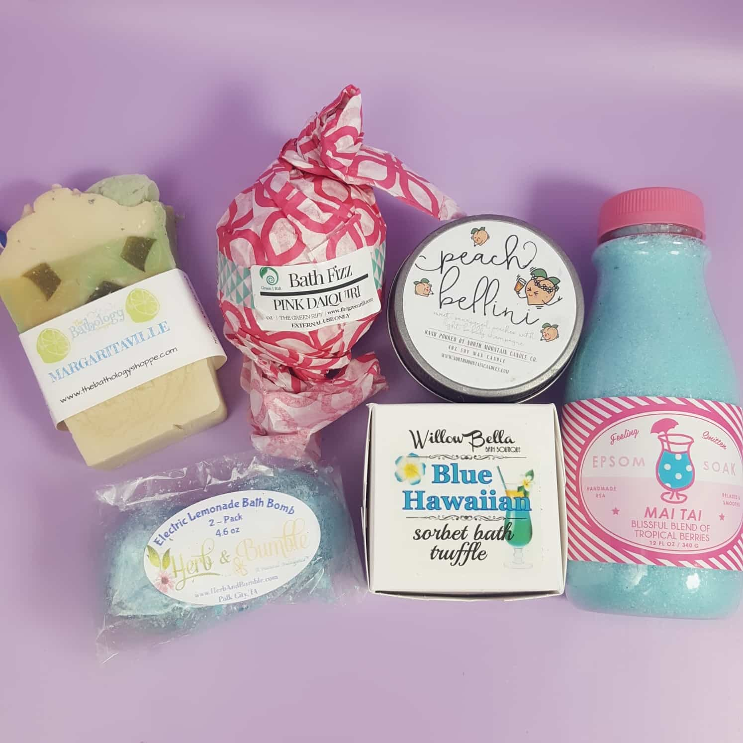 Bath Bevy July 2017 Subscription Box Review + Coupon