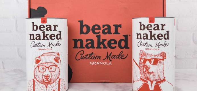 Bear Naked Granola August 2017 Subscription Box Review + Coupon