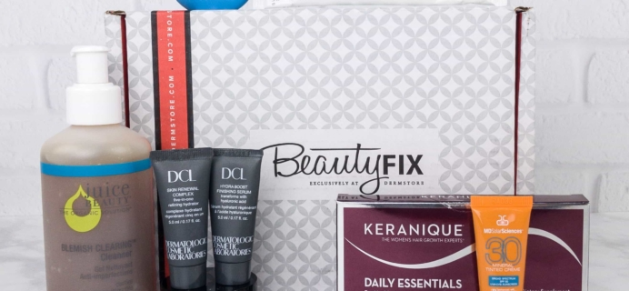 BeautyFIX August 2017 Subscription Box Review + Coupon