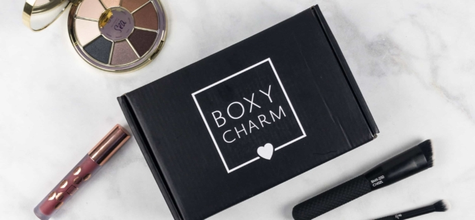BOXYCHARM August 2017 Subscription Box Review