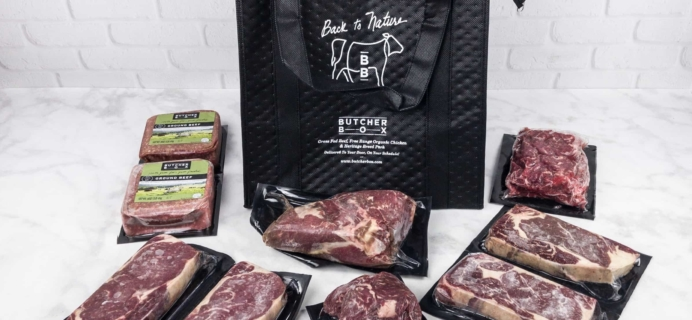 Butcher Box August 2017 Subscription Box Review + Coupon