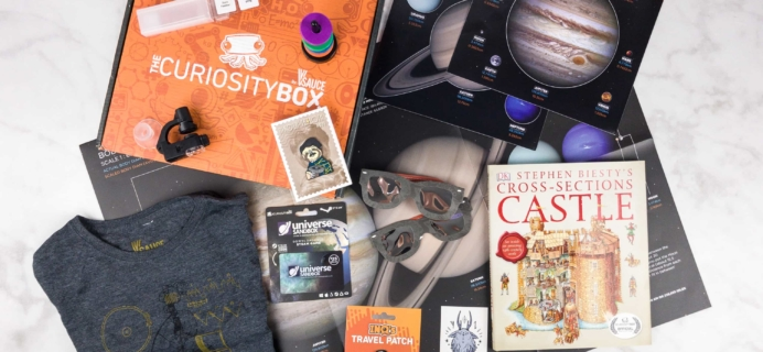 The Curiosity Box by VSauce Subscription Box Review – Summer 2017