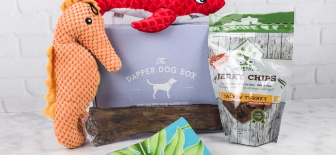 The Dapper Dog Box August 2017 Subscription Box Review + Coupon