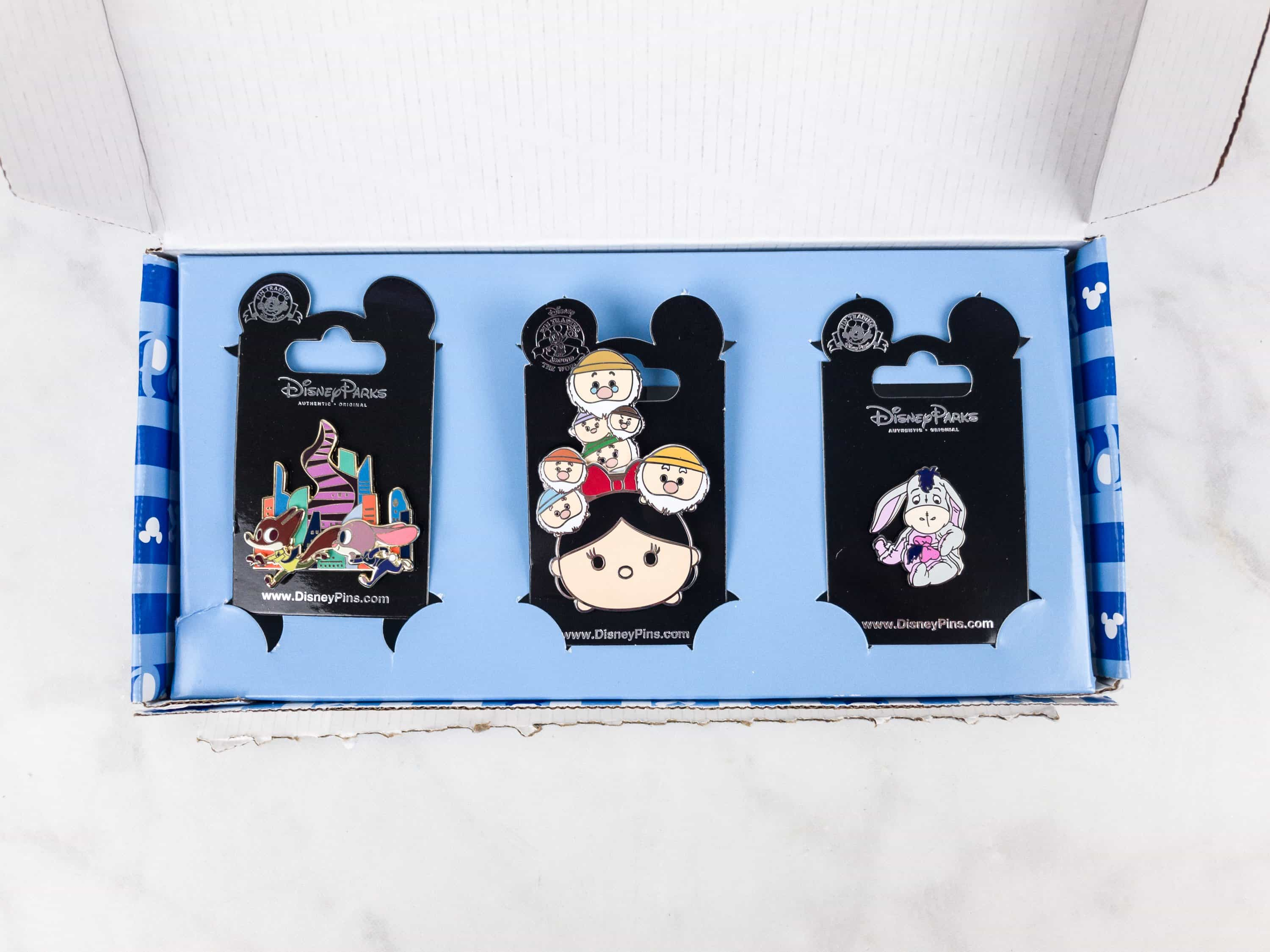 Disney Park Pack July 2017 Subscription Box Review – Pin Trading Edition