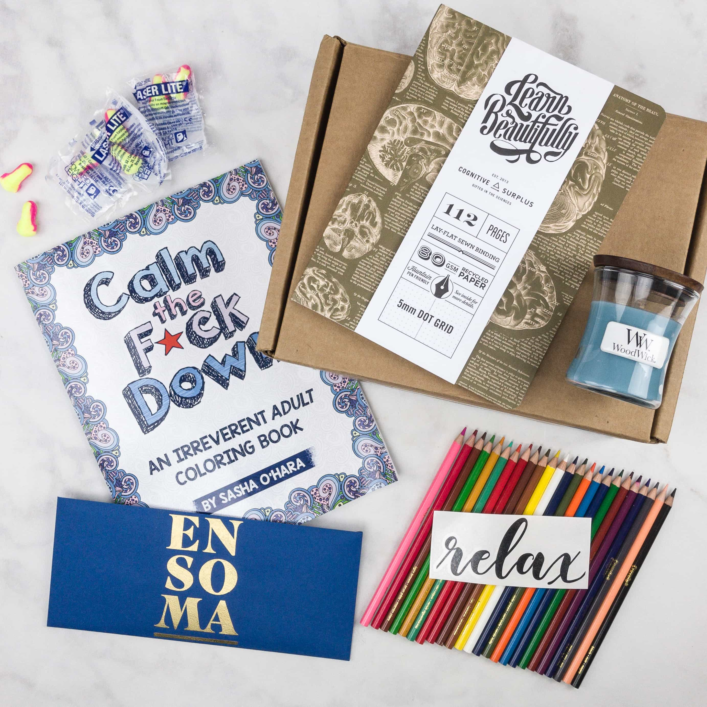 ENSOMA Box August 2017 Subscription Box Review