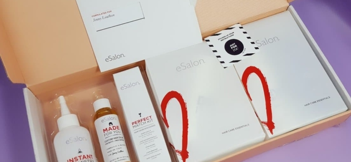August 2017 eSalon Custom Hair Color Subscription Review + Coupon